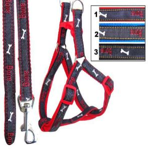 Fashion Nylon Cat Leashes and Harness for Pet Products (JCLH237)