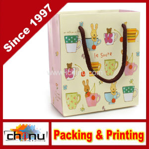 Art Paper / White Paper 4 Color Printed Bag (2268) pictures & photos