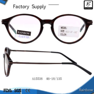 Retro Attractive Round Shape Luxury Acetate Frams (A15538)