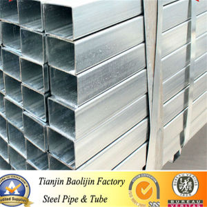 Black & Galvanized Square / Rectangular Welded Steel Tube & Pipe China pictures & photos