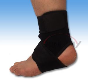 Soft and Elastic Neoprene Ankle Guard with Hook & Loop (NS0008) pictures & photos