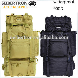 Seibertron Classic Series Sentinel 65L Internal Frame Pack Water Resistant Handy Travel Backpack