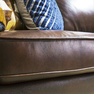 America Style Living Room Leather Sofa, Ikea Sofa (1704) pictures & photos