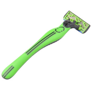 Top Quality Four Blades Disposable Razor with Blister Card pictures & photos