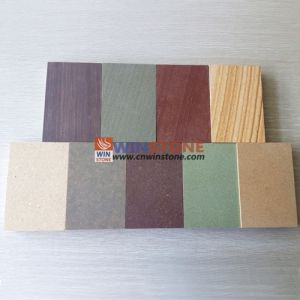 Natural Red/Green/Grey/Yellow/White/Purple Sandstone with CE Certificate
