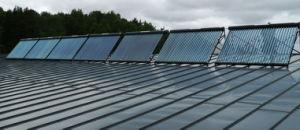 Split Pressurized Solar Water Heater System with Solar Keymark En12975 pictures & photos