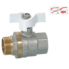 Brass Ball Valve (BV-1002) with Aluminium Handle pictures & photos