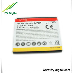 1600mAh Mobile Phone Battery for LG P990 Optimus 2x (2x P990)