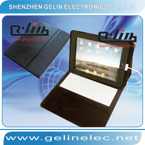 Keyboard With Case Leather for iPad (GL-AD005)