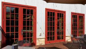 Caribbean Style Aluminum French Glass Door pictures & photos
