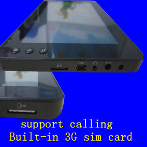 "7"" Mini PC / Mobile PC Tablet Built-in 3G SIM Card Slot Support Calling Ec7003"
