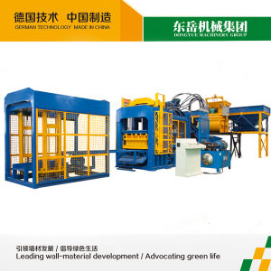 Fly Ash Hollow Paver Block Machine with Full Automatic System (QT10-15) pictures & photos