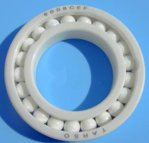 Si3n4 6230 PTFE Cage Full Ceramic Ball Bearing for Bike