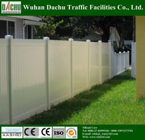 ASTM Certificated Vinyl Private Fencing pictures & photos