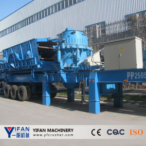 Good Performance Mobile Rock and Gravel Crusher pictures & photos