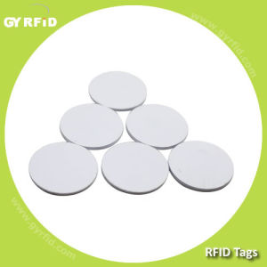 RFID PVC Lf Em4100 Em4102 Em4200 Disc Tag, RFID Hf Nfc  S50 S70 Ultralight Ntag203 Topaz Disk Coin Sticker Tag pictures & photos
