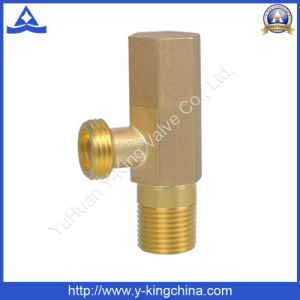 Brass Triangle Angle Valve for Basin Inlet Connection (YD-5020) pictures & photos