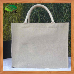 Promotional Jute Handle Bag for Shopping with Natural Color pictures & photos
