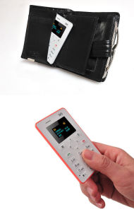 Standby Time 4 Days, Only 28g M5 Pocket Card Cell Phone pictures & photos