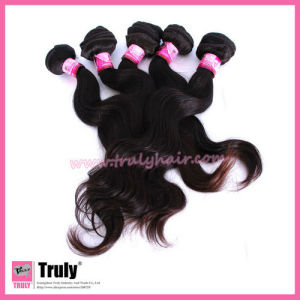 """Indian Remy Virgin Human Hair Weft, Body Wave, 12""""-30"""", Natural Color"""