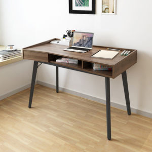 Traditional Walnut Wooden Writing Desk in Home Furniture pictures & photos