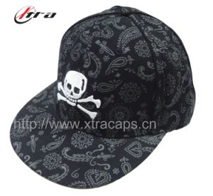 Skulls Pattern Paisley Design Fashionable Baseball Cap (XT-0142) pictures & photos