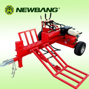 Hydraulic Log Splitter with loading arm 34t pictures & photos