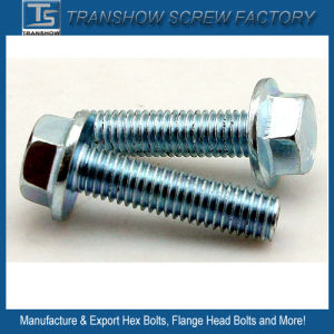 M10X35 Galvanized Steel Hex Bolt with Flange pictures & photos
