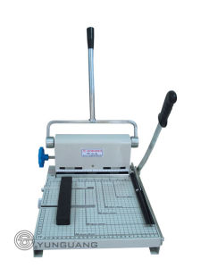 Paper Cutter With Punch (YG-210) pictures & photos