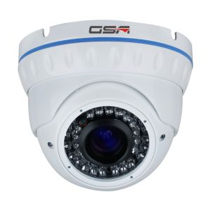 White Security Vandalproof Dome Camera-Dnj30