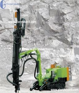 520 Hydraulic Crawler Rock Drilling Rig for Sale pictures & photos