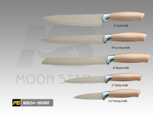 PP Handle Kitchen Knife (MS24-16090I)