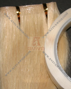 100% Remy PU Skin Weft Human Hair Extension (AV-HE04) pictures & photos