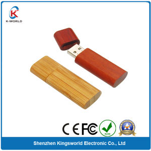 Normal Design 4GB OEM Wooden USB Pen Drive pictures & photos