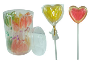 Heart Shape Lollypop (CWS2659-1) Valentine Lollipop Candy
