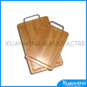 Wooden Cutting Board with Handle pictures & photos