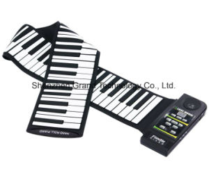 USB Flexible Silicon Roll up Piano with 88 Keys (GPN-88S) pictures & photos