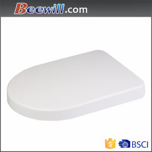 D Shape Urea Soft Close Decorative Toilet Cover pictures & photos