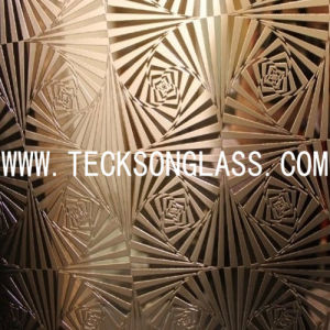 Deep Acid-Etched Patterned Glass pictures & photos