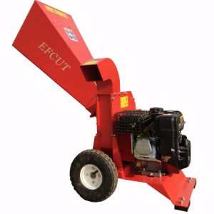 Best Function Wood Chipper for Garden Works 6.5HP Gasoline Chipper pictures & photos