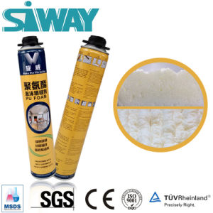 750ml Expansion Door and Window Filling Expanding Sealing Spray PU Polyurethane Foam pictures & photos
