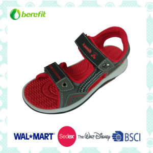 Boy′s Sandals with PU Upper and TPR Sole pictures & photos