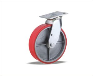 Swivel Caster With Polyurethane Wheels pictures & photos