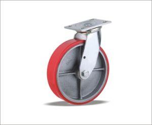 Swivel Caster With Polyurethane Wheels