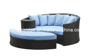 Lazy Wicker Daybed Ld01 Outdoor Rattan Furniture