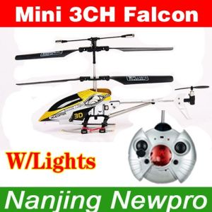 New Model Mini 3 CH 16cm RC Helicopter (LY6620)