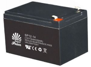VRLA Battery 12V 14AH with CE UL Certificate (SP12-14) pictures & photos