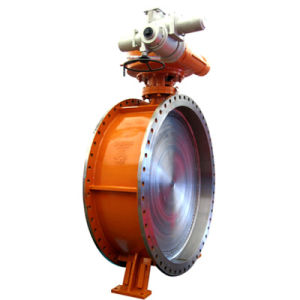 API Electric Flanged Butterfly Valve