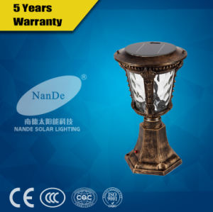 Good Price Solar Post Light for Garden pictures & photos