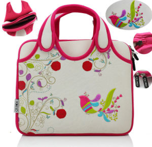 China Factory Embroidery Neoprene Women Laptop Seelve Bags Note Book Bag 11′′ 13′′inch pictures & photos